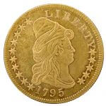 $10 gold eagle capped bust coin
