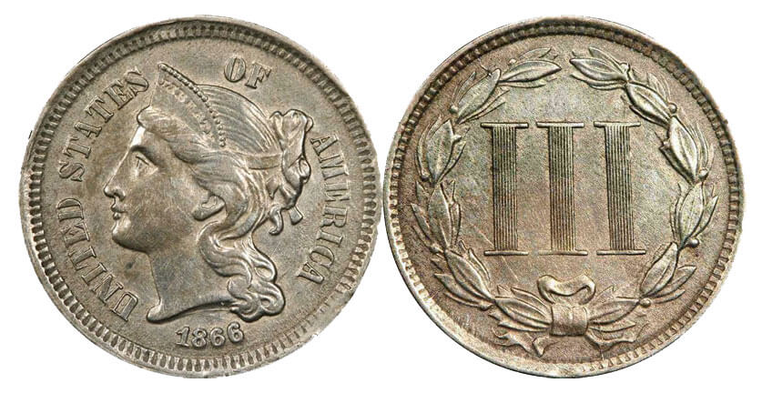 Three-Cent Coin